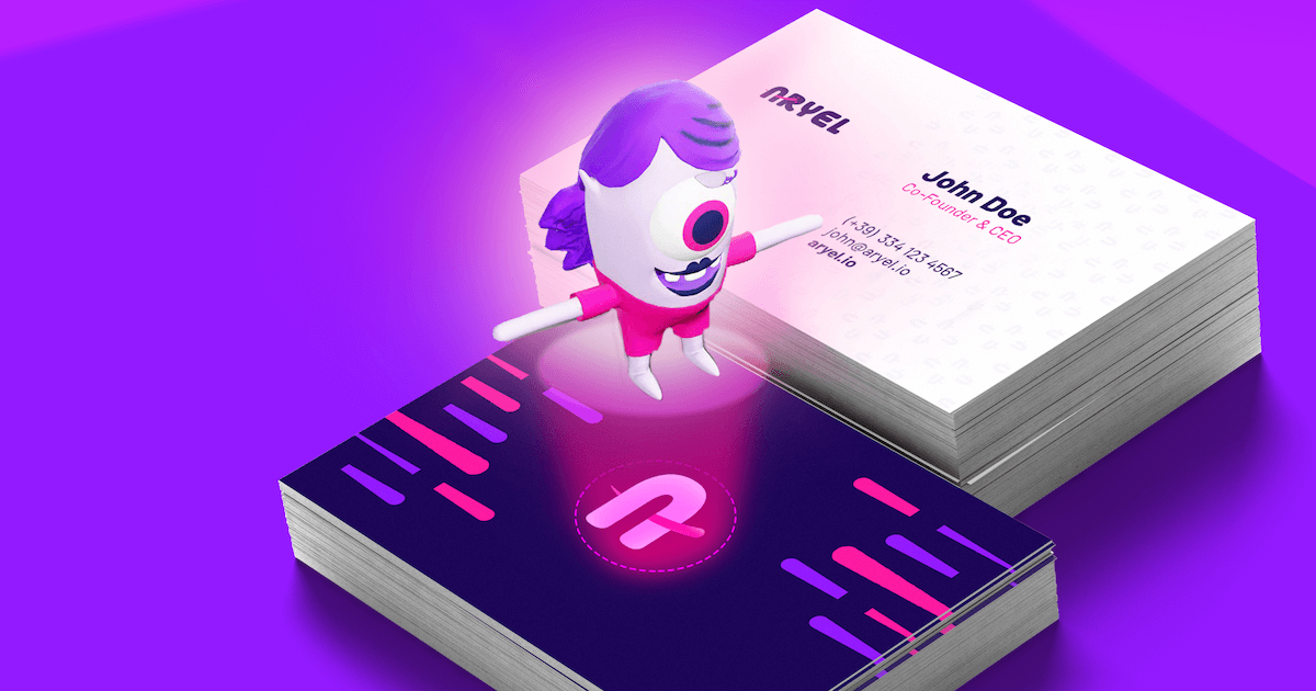AR for Business Cards