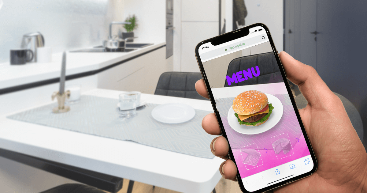 AR for Food and Beverage