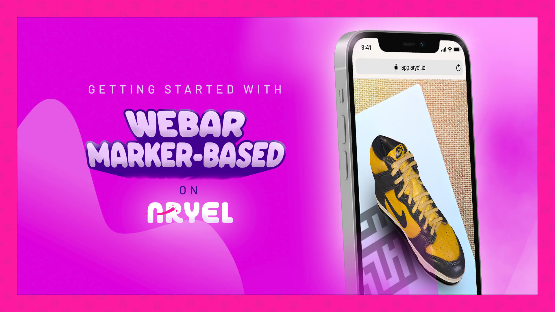 Getting started with WebAR Marker-Based on Aryel